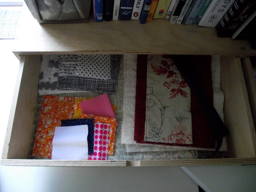 On the left; RSC15 and a partially finished purse