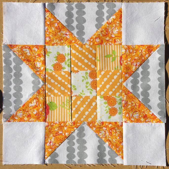 orange 9 patch