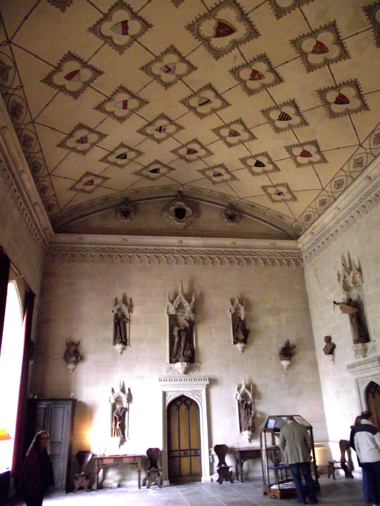 Entrance Hall Lacock Abbey