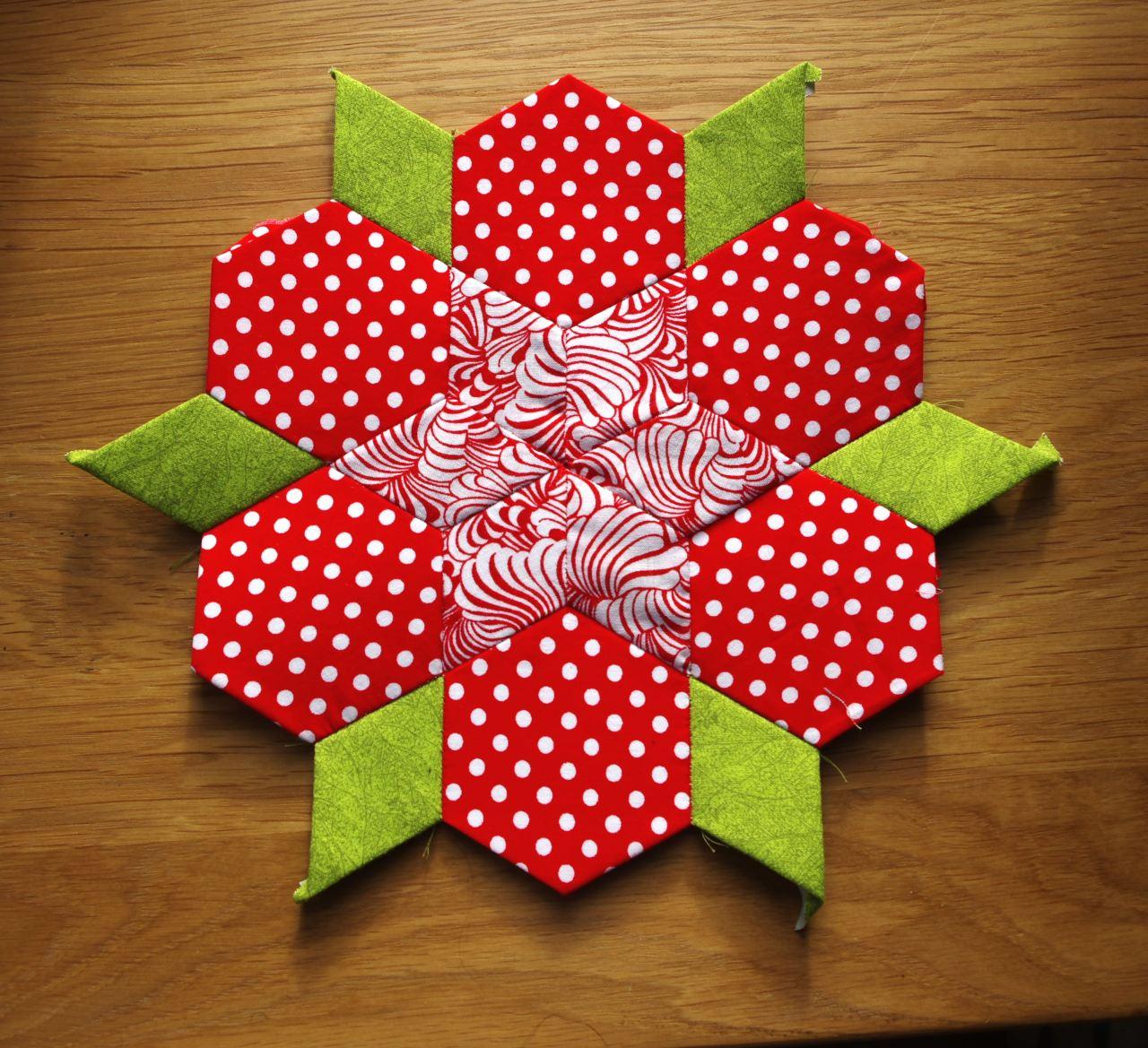 Star flower red
