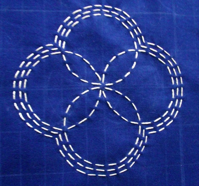 Sashiko sample 4